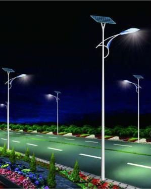 solar light pole ahmed group india
